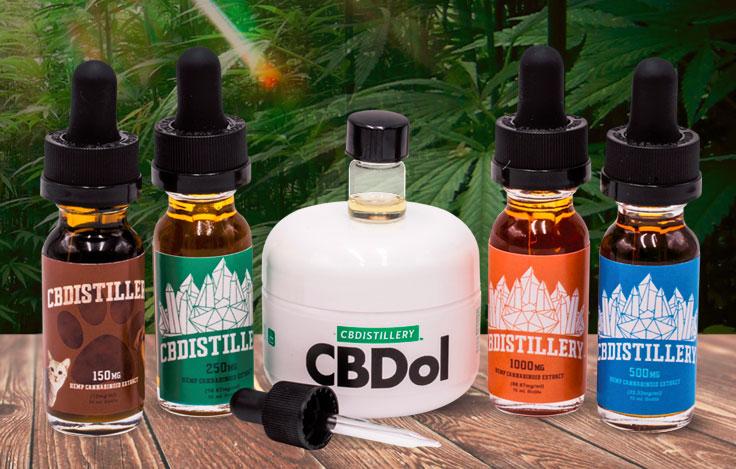 cbdistillery products