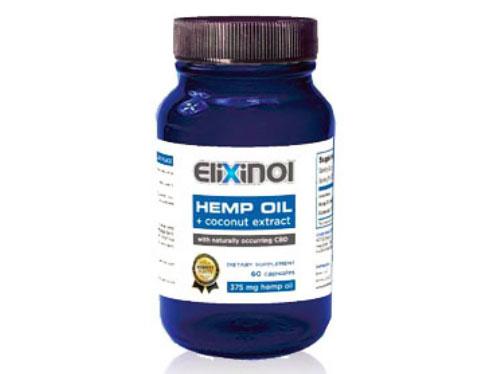 Elixinol CBD Hemp Oil Capsules 900mg
