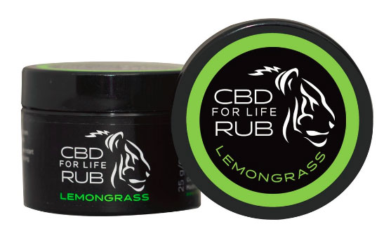 Pure CBD For Life Rub