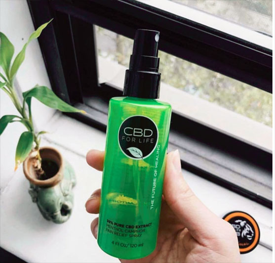 Pure CBD Oil Spray