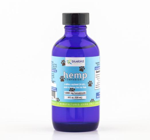 Bluebird Pet Hemp Oil