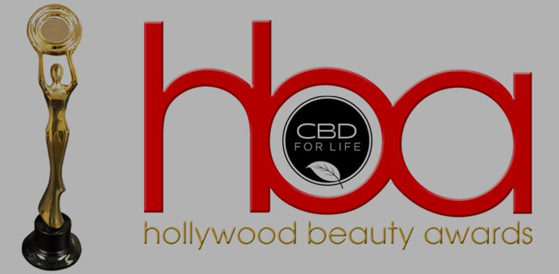 cbd for life hollywood beauty awards