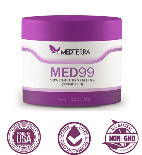medterra 99 cbd isolate