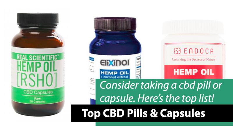 Best CBD Pills & Capsules