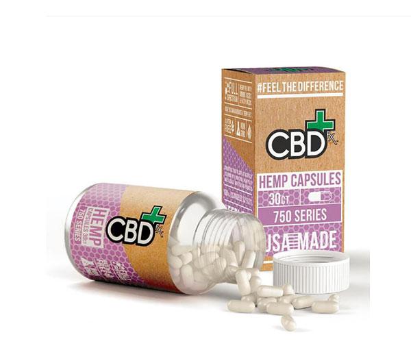 cbdfx hemp capsules 750mg