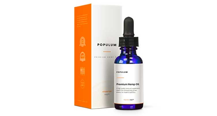 Populum Hemp Oil
