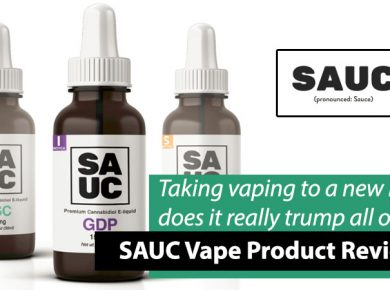 sauc cbd vaping products