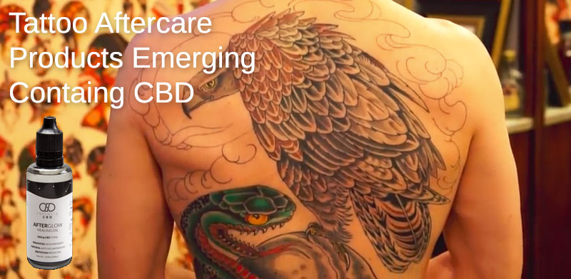 tattoo aftercare cbd lotions