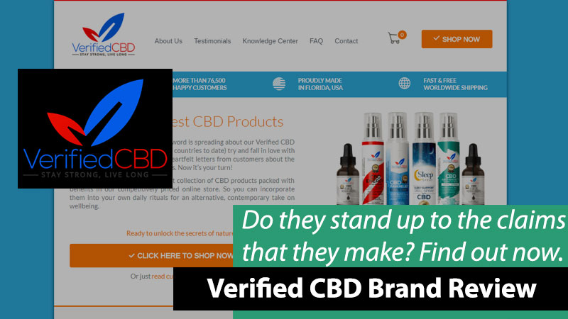 verified cbd oil review