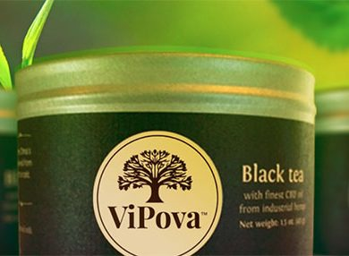 vipova hemp oil tea