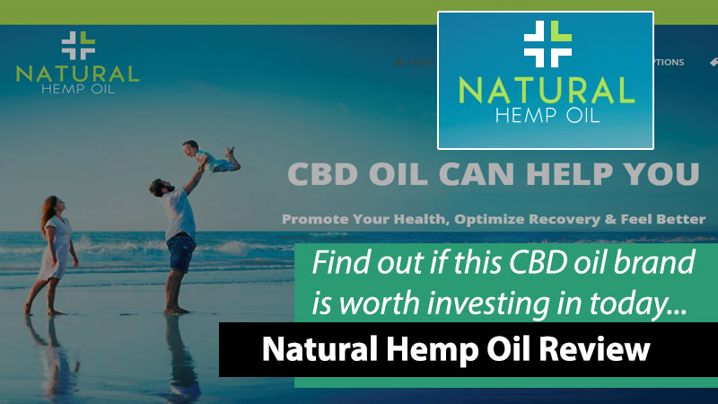 natural hemp oil brand