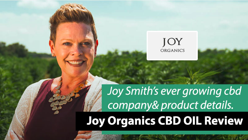 Photo of Joy Smith from Joy Organics