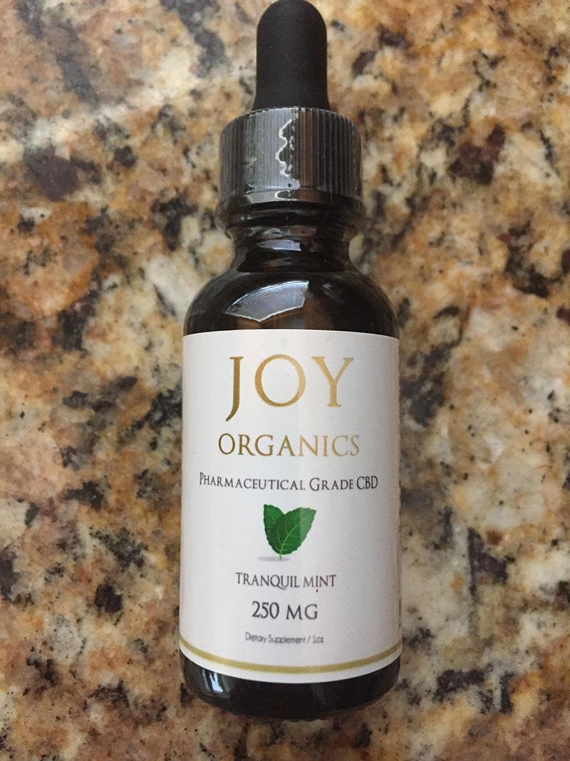 joy organics tranquil mint 250mg