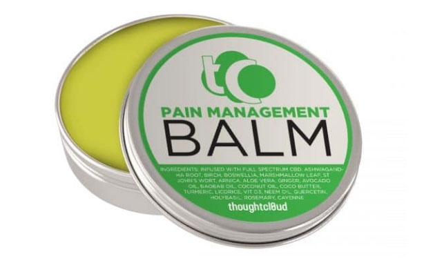 full-spectrum pain management CBD balm