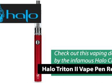 halo triton 2 vape pen reviews