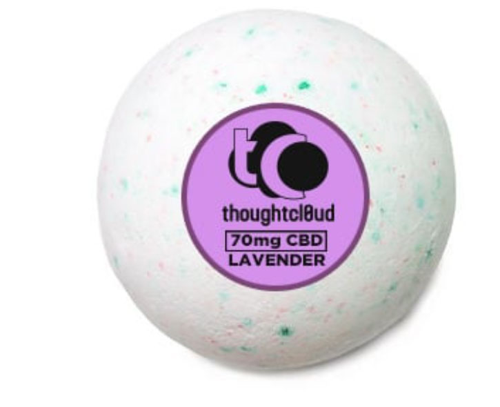 Thought Cloud Bath Bomb