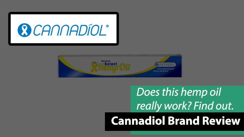 Cannadiol logo and products