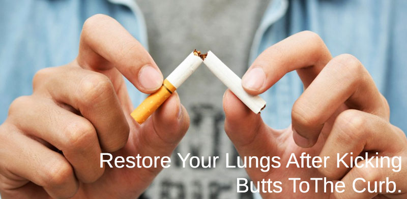 restore your lungs after smoking