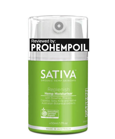 Sativa Hemp Moisturizer Jar