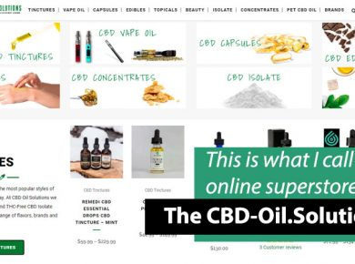 CBD Oil Solutions Site