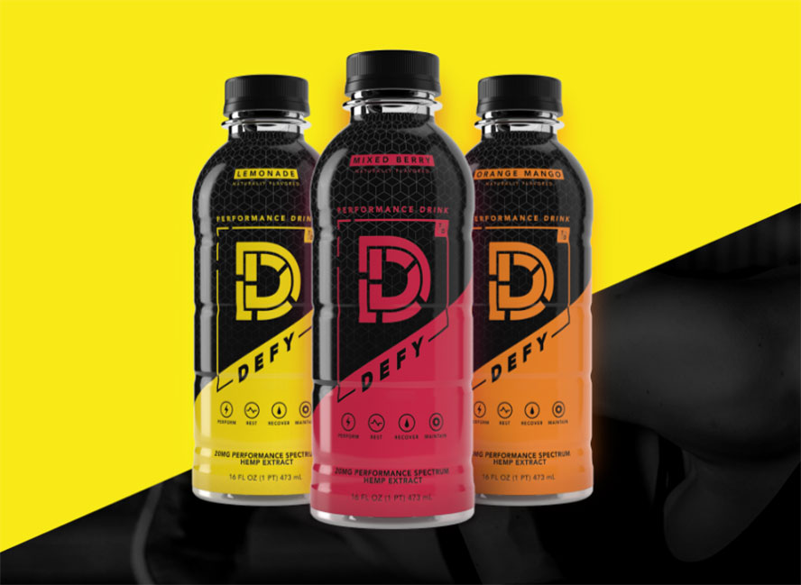 Image result for defy cbd drink