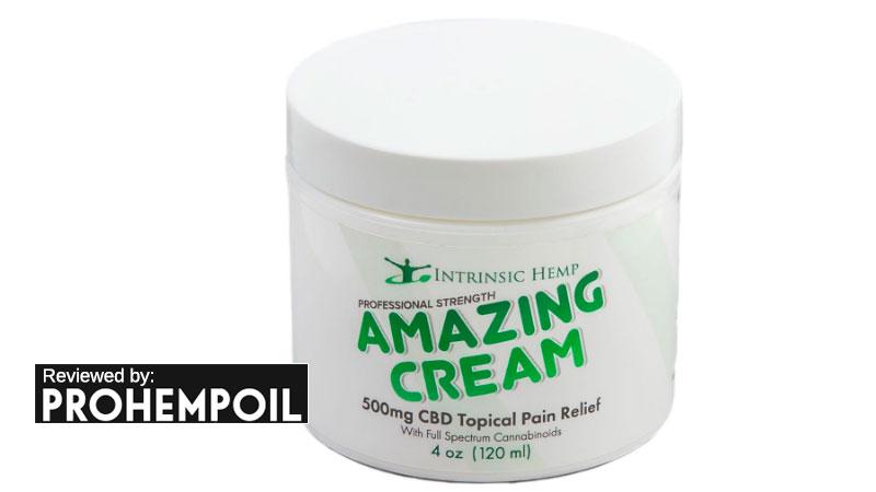 Amazing Cream by Intrinsic Hemp