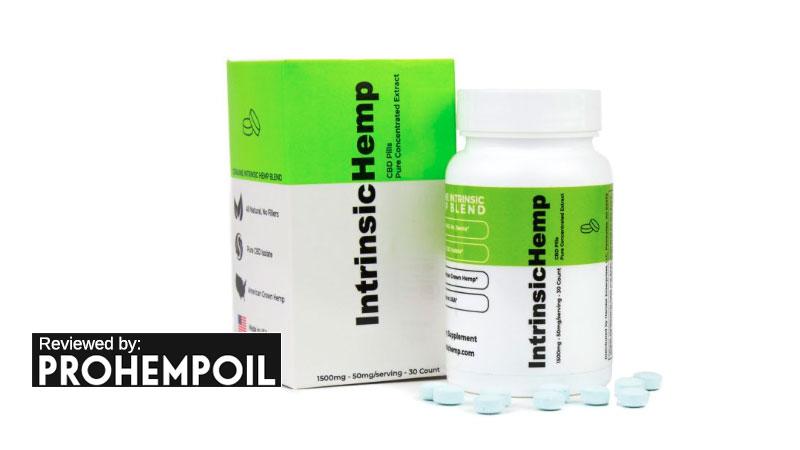 intrinsichemp cbd pills