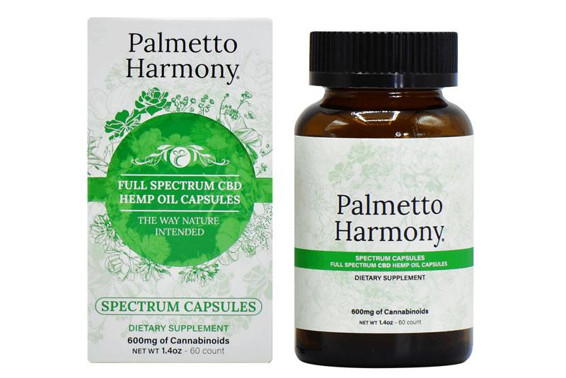 CBD Capsules by Palmetto Harmony