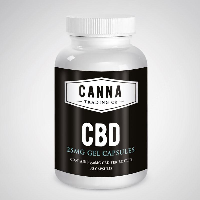Canna Trading CBD Capsules