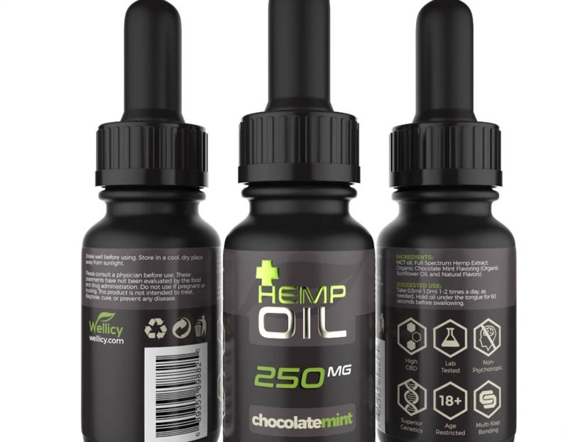 chocolate mint cbd oils