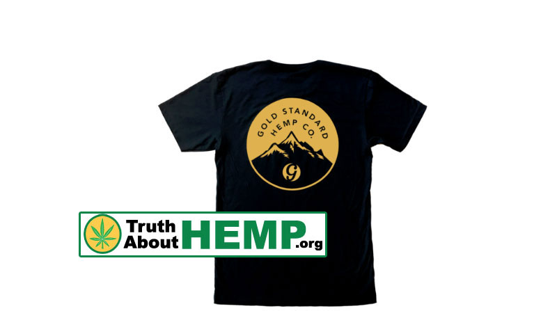 Gold CBD Hemp Swag