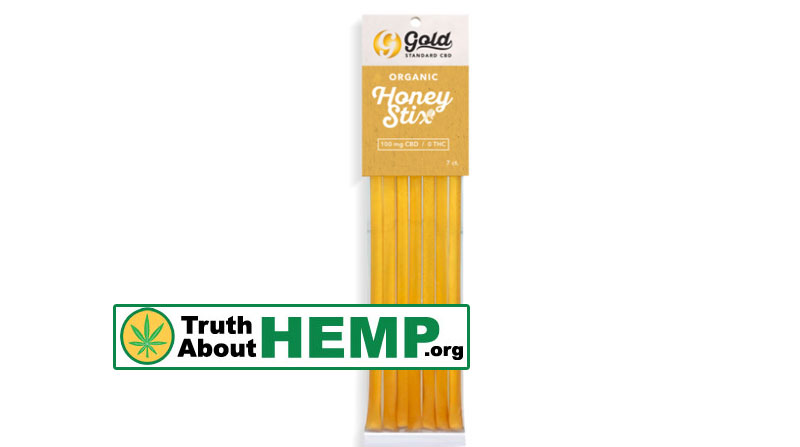 gold cbd honey stix