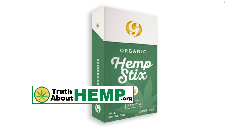Original CBD Gold Hemp Stix