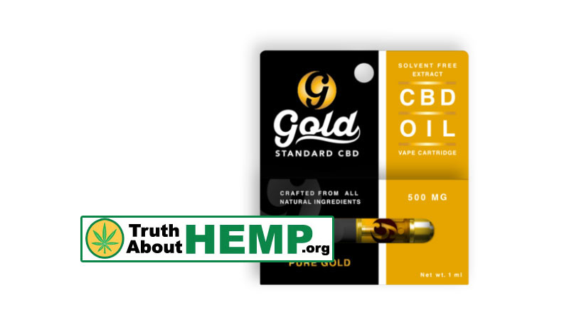 gold cbd vape cartridge 500mg