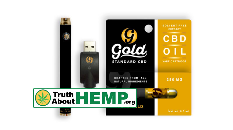 gold cbd vape cartridge