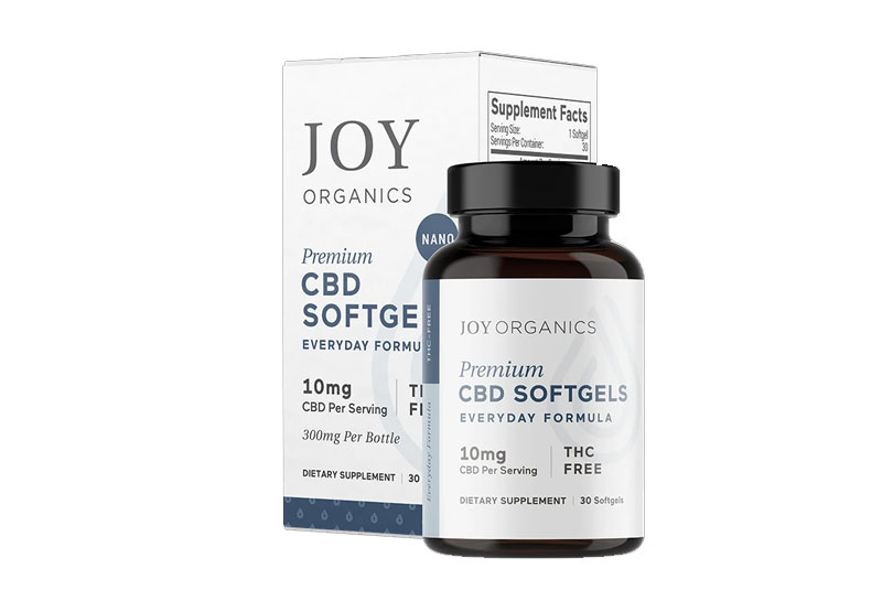 Joy Organics Softgel Capsules