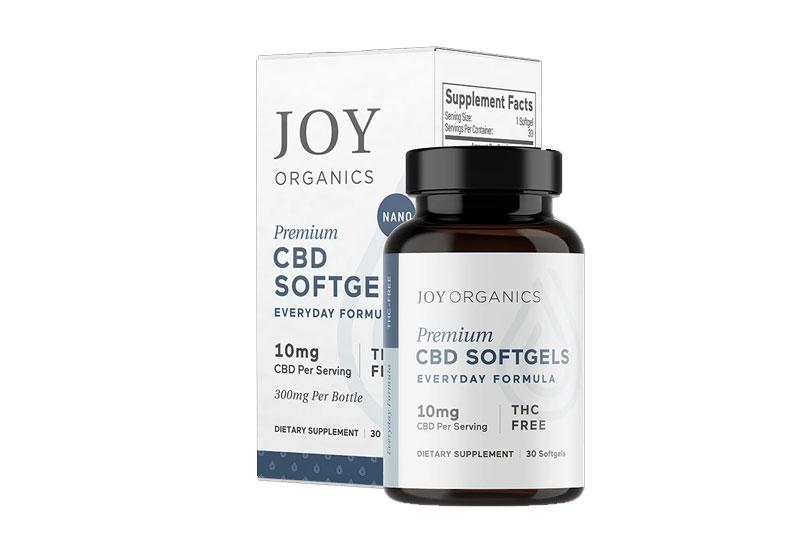 Joy Organics Softgel Capsules