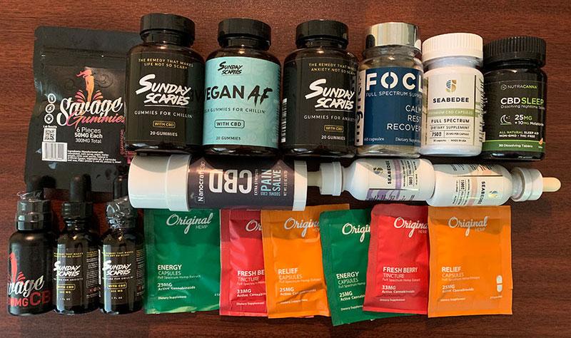 hemp oil and cbd products