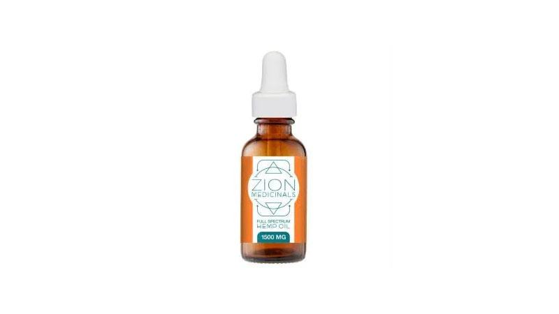 Zion Medicinal's Full Spectrum Hemp Oil