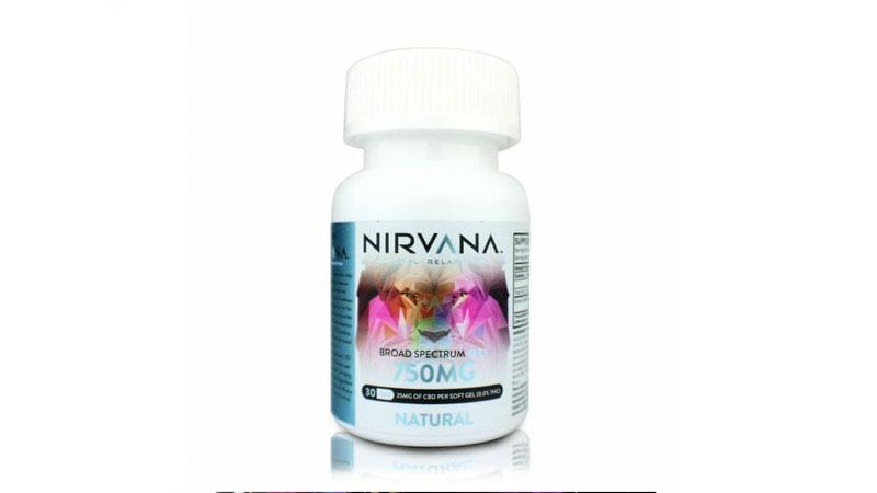 Nirvana CBD Capsules