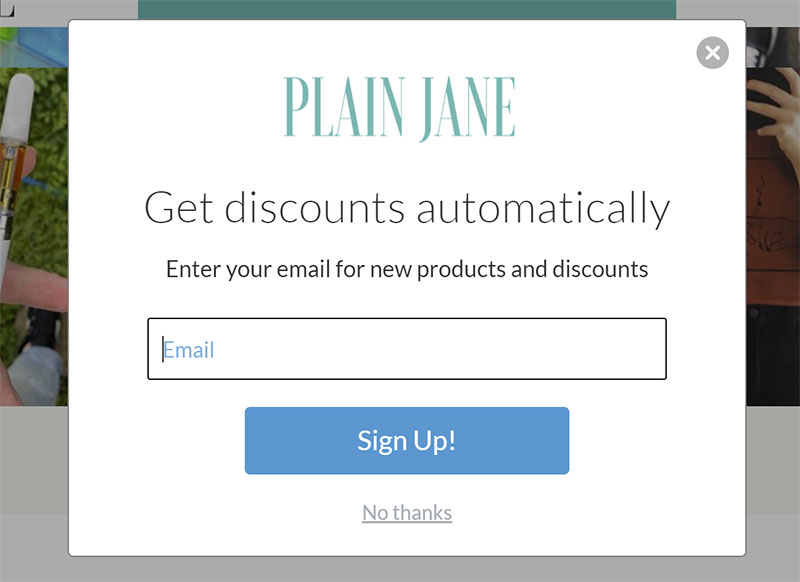 Plain Jane Discount Code