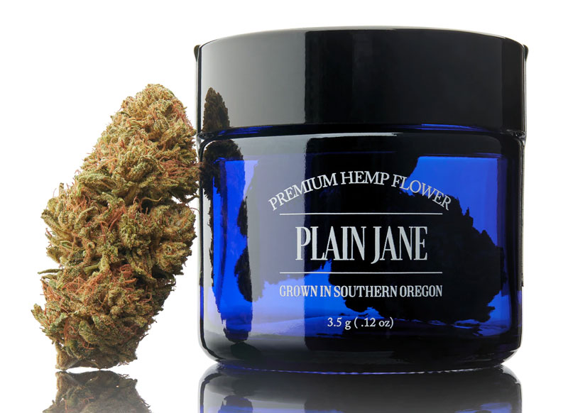 Plain Jane hemp flowers