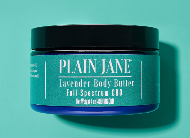 CBD Topical butter by Plain Jane