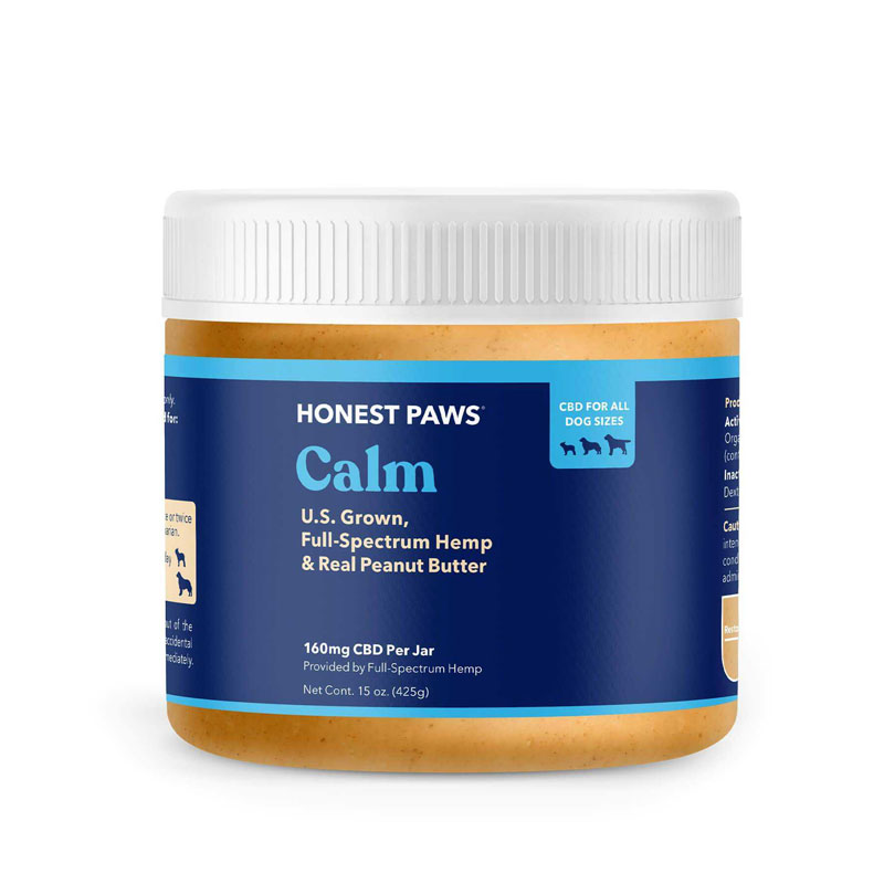 Honest Paws Calm Peanut Butter