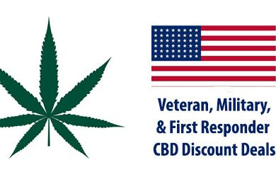 Military and Veteran CBD Discount Coupons