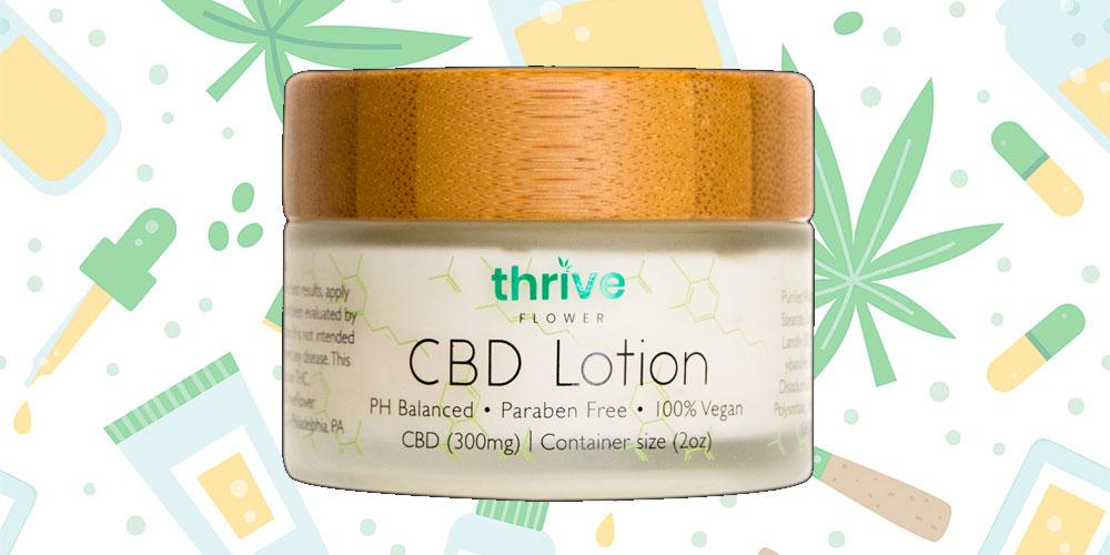 Thrive Flower CBD Lotion